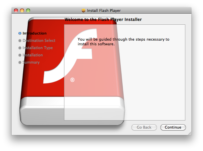 Flashback fake Flash update installer