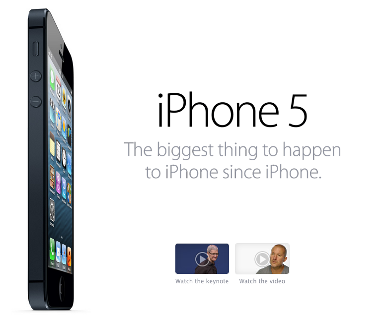 iPhone 5 Release Promo
