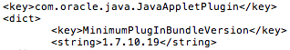 Apple updated XProtect to disable Java 7