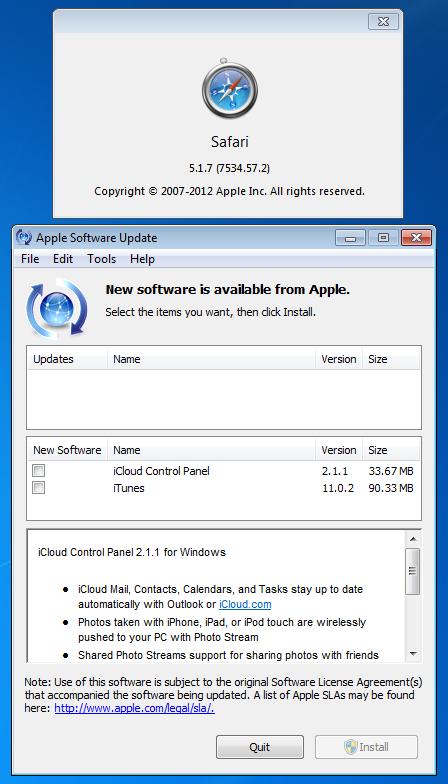 No Safari 5.1.8 for Windows