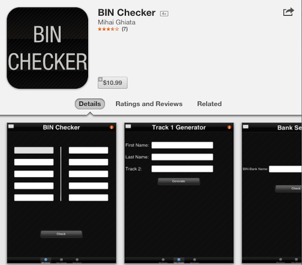 BinCheck