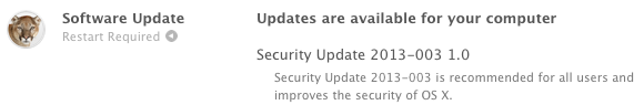 Security Update 2013-003
