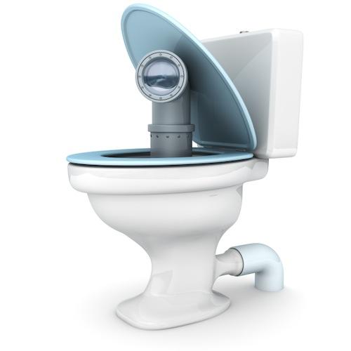 Hack-Toilet