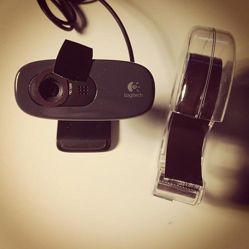 TapedWebcam