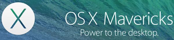 OS X Mavericks 10.9 Security Update