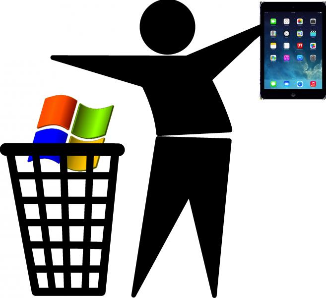 Trashing XP for iPad