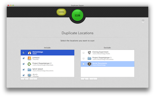 Customize your search by adding or removing locations