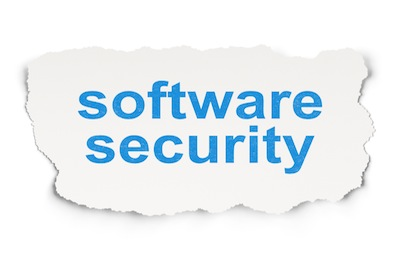 Software Security on Paper background