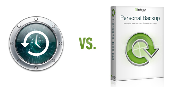 Time Machine vs Intego Personal Backup