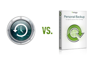 Intego Personal Backup vs Time Machine