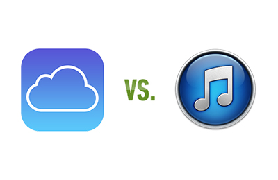 iOS backups to iCloud or iTunes