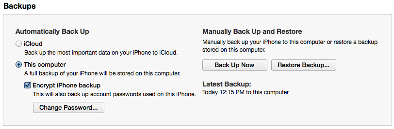 Should You Back Up Your iOS Device to iCloud or iTunes