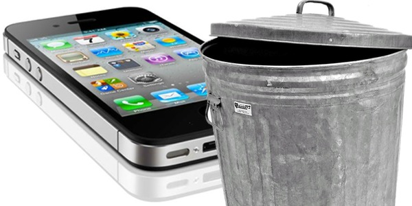 Throw your iPhone 4 in the bin