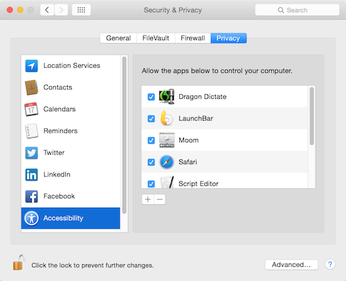OS X Yosemite: Security and Privacy Features Overview | The