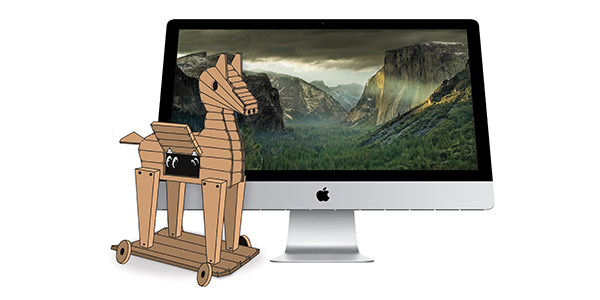 Ventir Trojan malware on a Mac