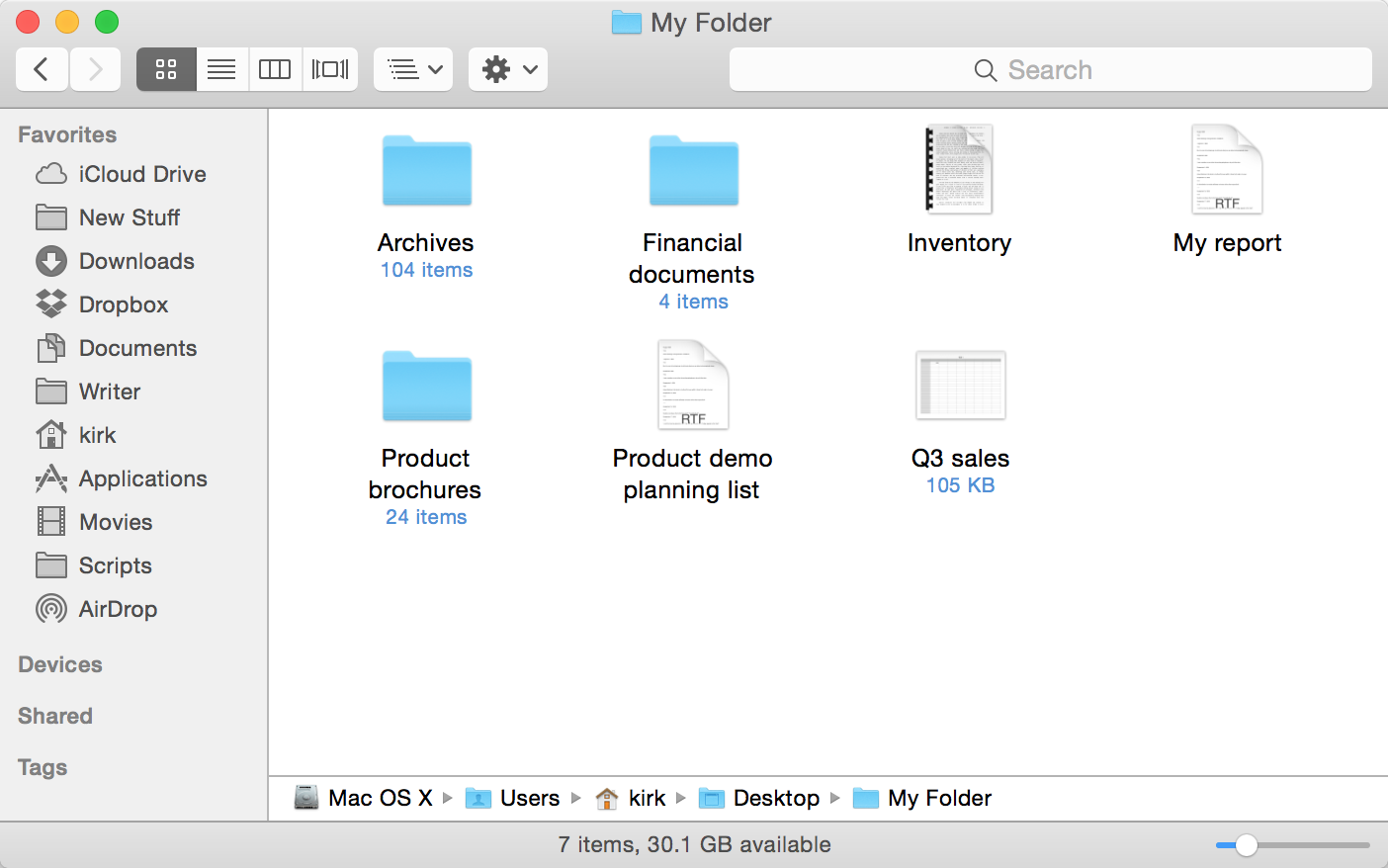 Enter Folders, Select Files And More, Just From The Keyboard Open A Folder  With