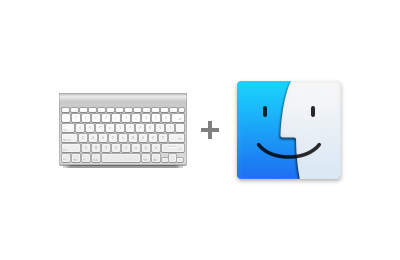Navigate OS X Finder from the keyboard