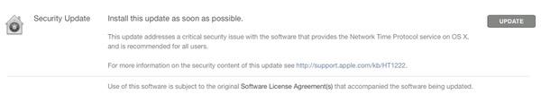 Manual OS X update