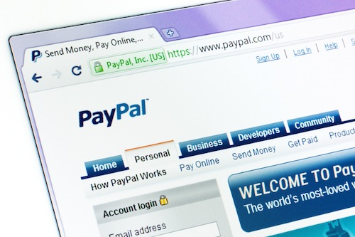 Use PayPal for safe online shopping