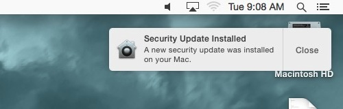 Keep Mac computer clean and install security updates