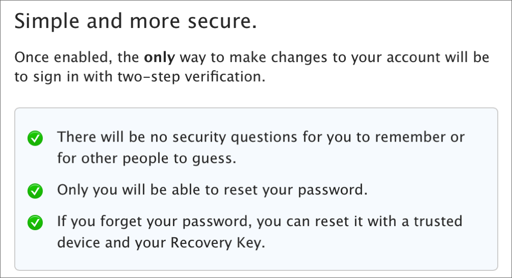 How to Activate Apple's Two-Step Verification for iCloud