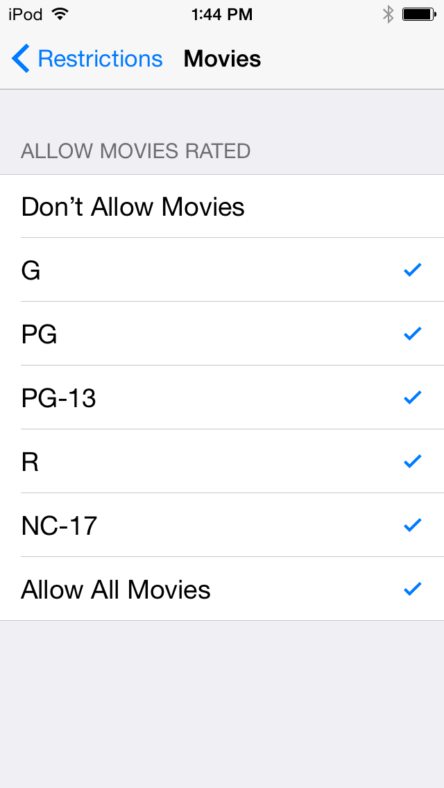 iOS 8 Restrictions: Parental Controls Overview for Parents