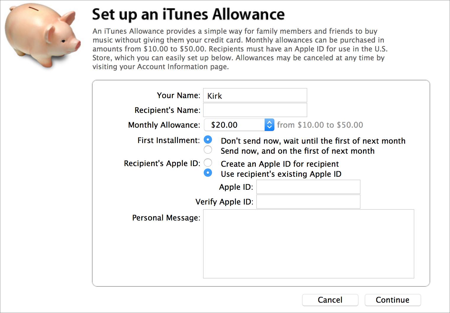 set-up-allowances
