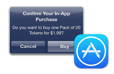 In-App Purchases from iTunes Store