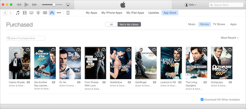 iTunes Store purchased