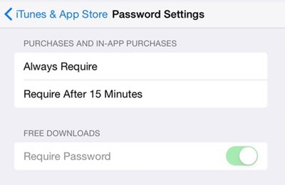iOS 8 3 Lets You Skip Password Entry to Download Free Apps