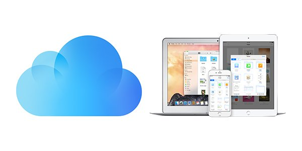 Photo of iCloud Drive next to Mac and iOS devices.