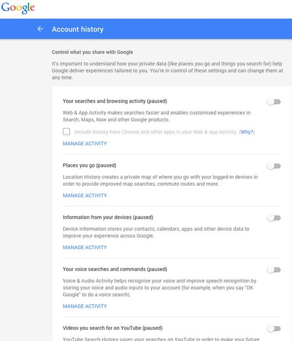 google-account-history