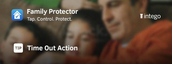 Family Protector Time Out action tip header image