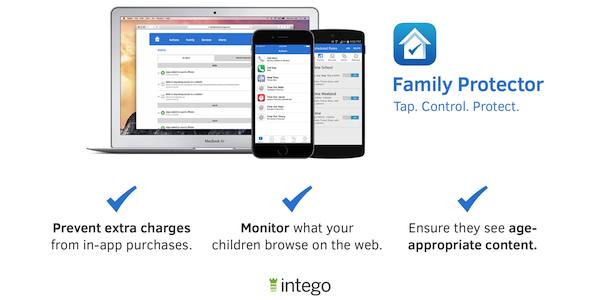 Family Protector iOS parental controls image