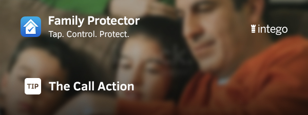 Get your kids to call home with Call Me action Family Protector tip header image
