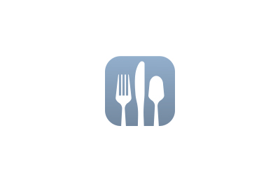 Meal Time icon for iOS device restrictions