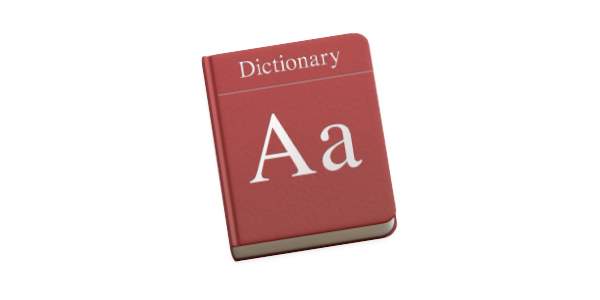 Apps for dictionary