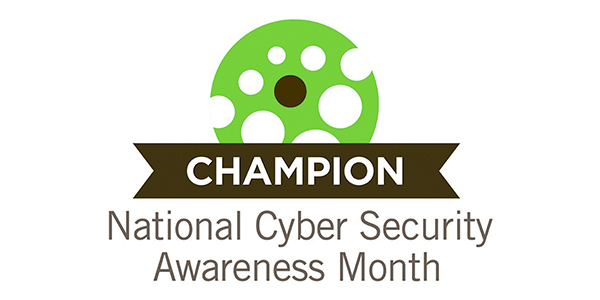 National Cyber Security Awareness Month 2015 Champion logo