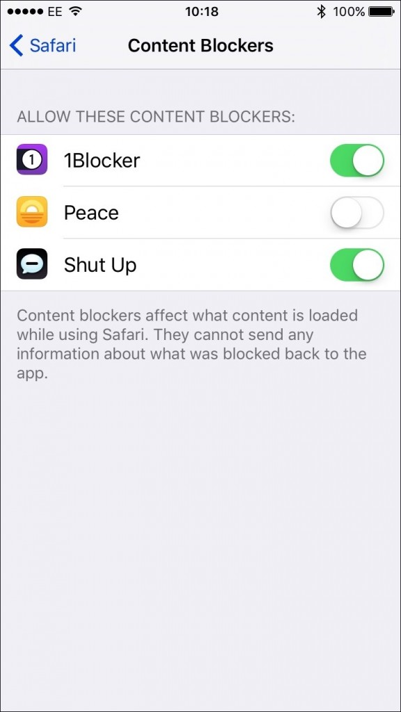 blocker-setting