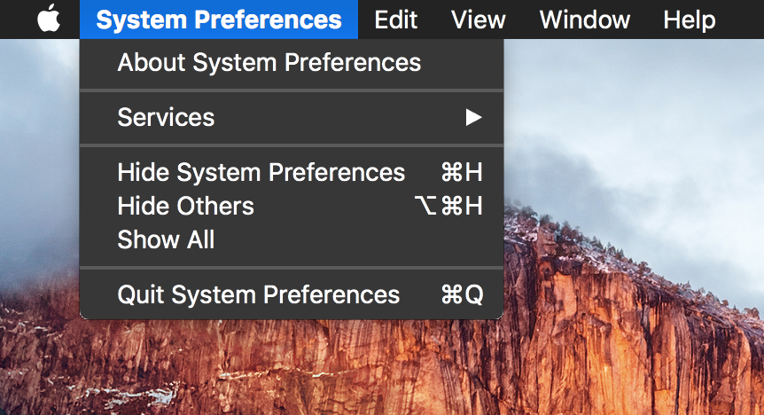 mac os x change menu bar color