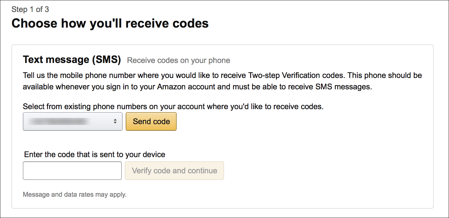 protect your amazon account with two step verification the mac