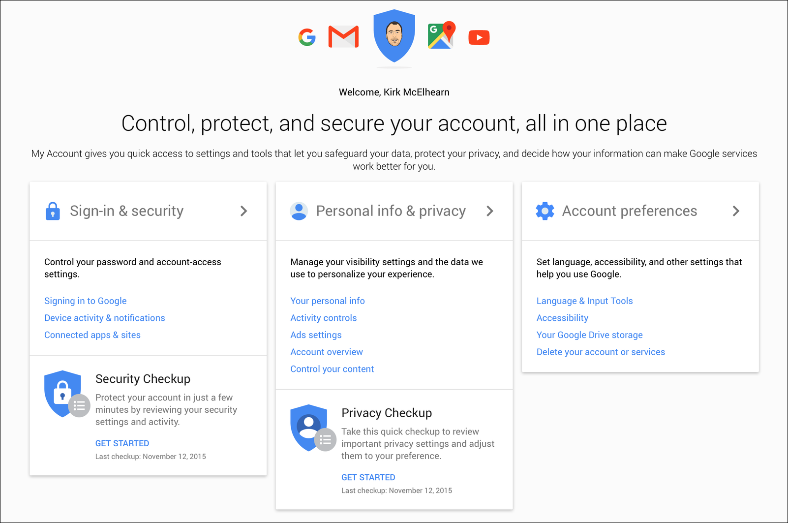Access My Gmail Inbox how to manage gmail and google security and privacy settings