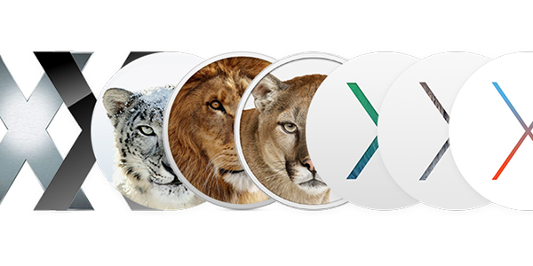 Mac OS X History