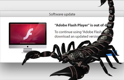 Fake Flash Player update infects Mac with scareware