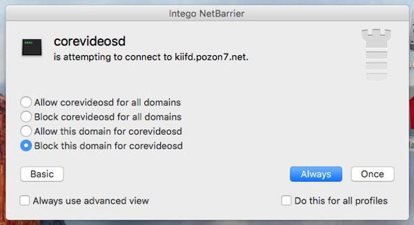 Intego NetBarrier