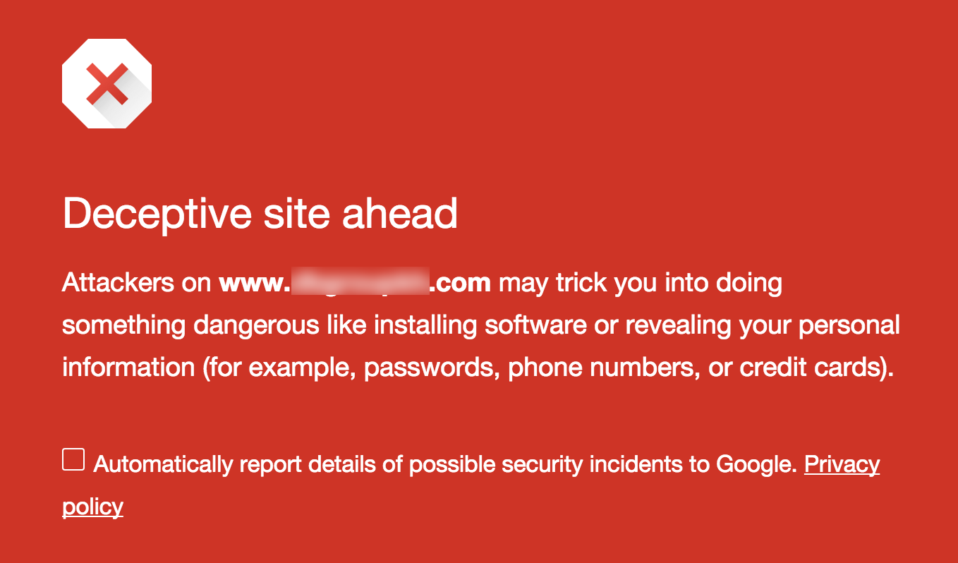 How to Use Your Web Browser's Fraudulent Site Protection