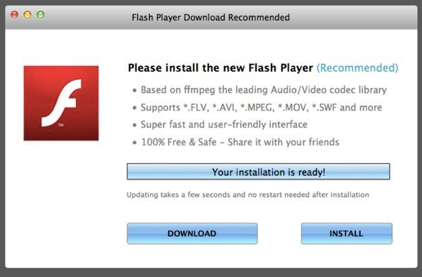 fake-flash-player-download | The Mac Security Blog