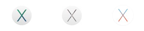 OS X Mavericks Yosemite El Capitan logos