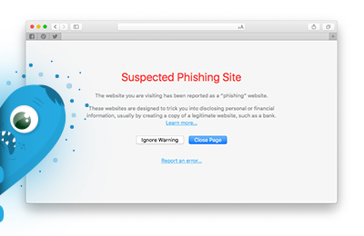 Phishing Site Protection