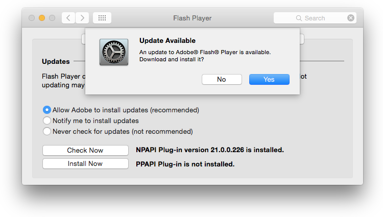 Adobe Flash Player 21.0.0.242 released